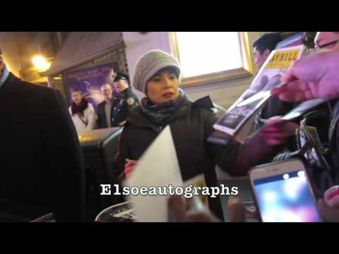 Lea Salonga greets & signs autographs for fans at Allegiance Broadway Show