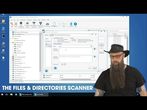 The Files & Directories Scanner in PDQ Inventory