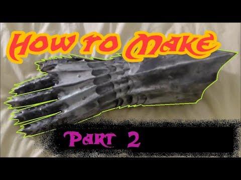 Pt2 Make Steel Armor Gauntlets Main Hand Pieces