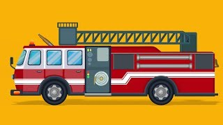 Fire Truck Formation | Cartoon Video For Toddlers | Nursery Rhymes For Children by Kids Channel