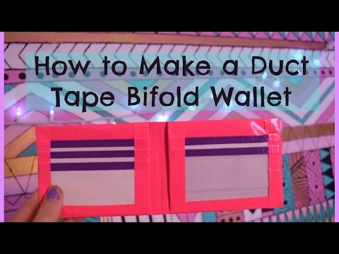 How to Make a Duct Tape Bifold Wallet