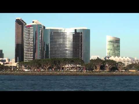 San Diego - Marriott Hotel from Coronado Ferry