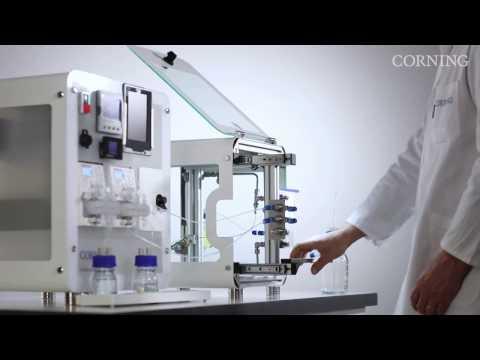 Corning® Advanced-Flow™ Reactors: Lab Reactor System