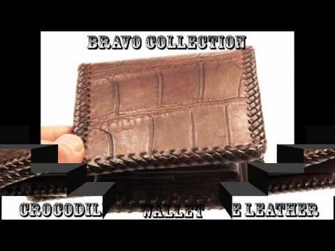 Handmade Genuine Crocodile Leather Men Wallet CW-011
