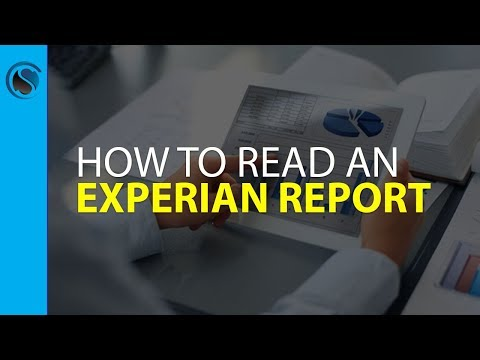 How to Read an Experian Report Livestream