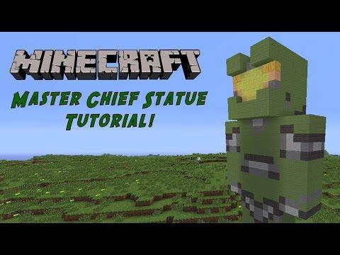 Minecraft Tutorial: Master Chief Statue