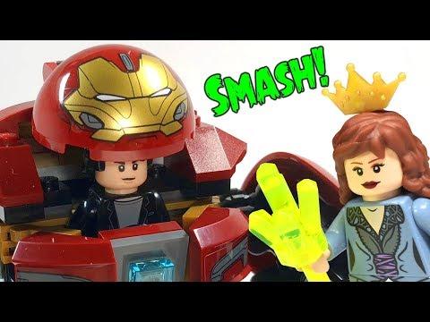LEGO Hulkbuster Smash-Up 76104 Avengers Infinity War Review
