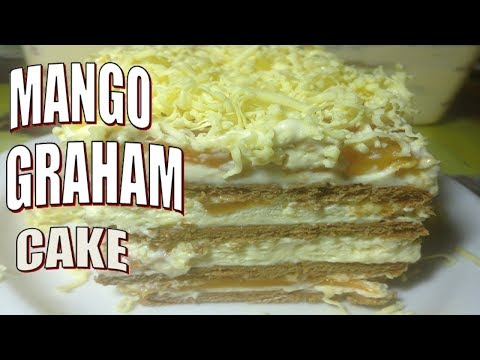 Mango and Cheese Graham cake -- Kitchen Channel--