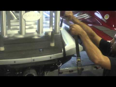 Plattinum Products Jet Ski Rack Installation