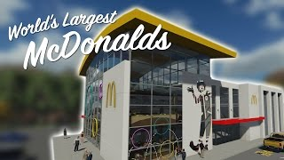 Download WORLDS LARGEST McDONALDS - Feat. Pizza Video