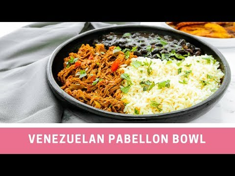 Venezuelan Pabellon Bowl