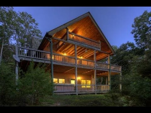 Blue Sky Cabin Rentals - Mountain Vista Hideaway - 3 bedroom mountain view cabin