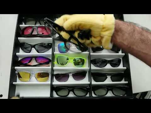 ⏩ Sunglasses Collection Display Case 💓 #speedASMR unboxing video