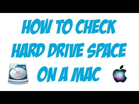 How To Check Hard Drive Space on A Mac - Mac Tutorial