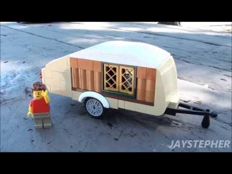Take I Of Lego Teardrop Travel Trailer