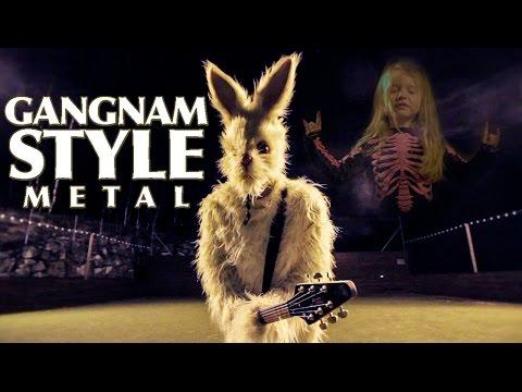 Gangnam Style (metal cover by Leo Moracchioli)