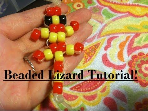 Beaded Lizard Tutorial! (Very Simple)