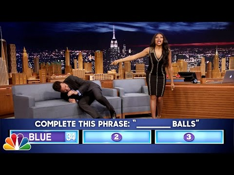 Fast Family Feud with Taraji P. Henson