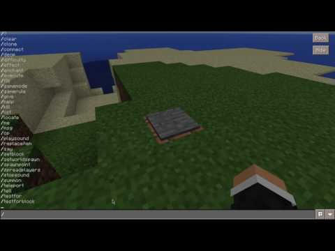 How to hide command block output/commands shown in chat - Minecraft PE