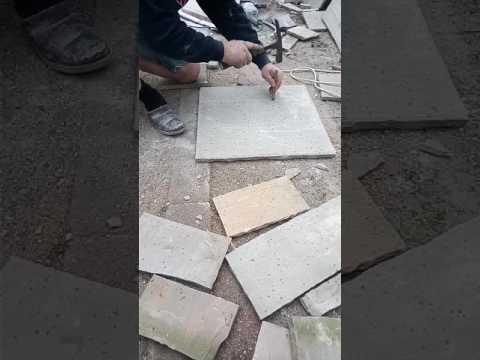 Indian stone cutting......