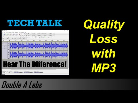 What You Lose When You Compress Music to MP3, M4A, WMA, etc.