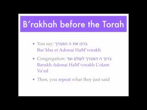How to Have an Aliyah to the Torah