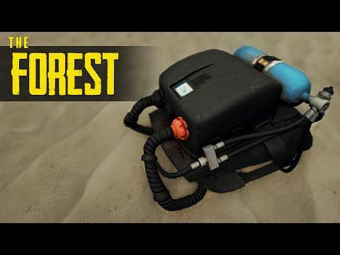 How to GET THE REBREATHER! The Forest Tutorial