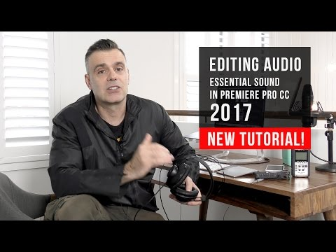 How to Edit Audio with Premiere Pro CC - New Tutorial!