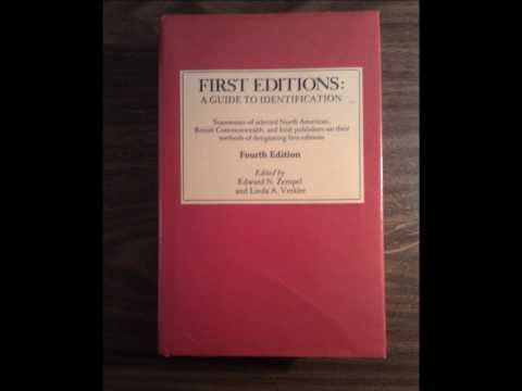 Quickly Learn How To Identify Collectible First Editions