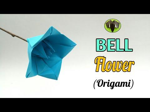 Bell Flower - DIY | Origami | Tutorial | Handmade - 772