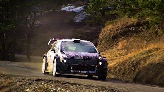 - Test Citroen C3 WRC - Kris Meeke - MC 2017 - Checkpoint Rallye -