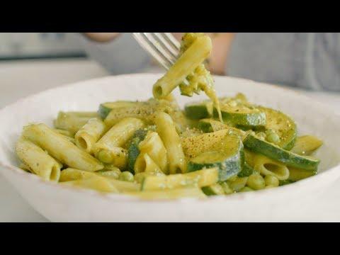 Deliciously Ella Easy 15 Minute Green Pasta | Vegan