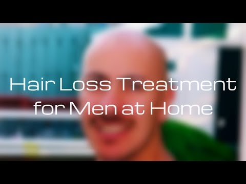 Hair Loss Treatment for Men at Home