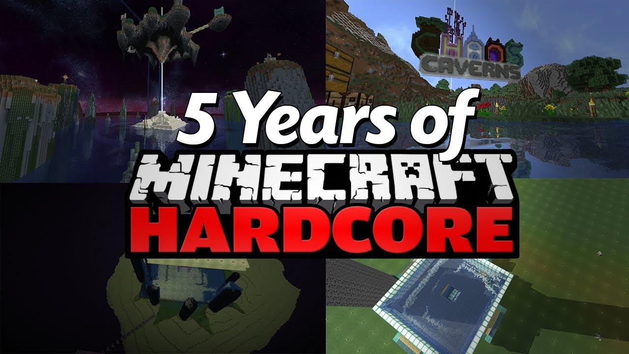 My 5 Years of Minecraft Hardcore (Montage)