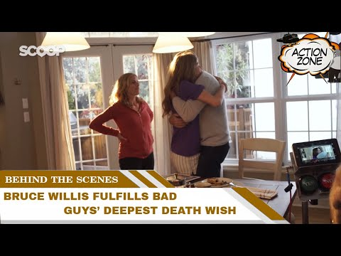Behind The Scenes Of Death Wish | Bruce Willis fulfills bad guys' deepest Death Wish