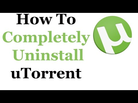 How To Uninstall uTorrent From Windows 7