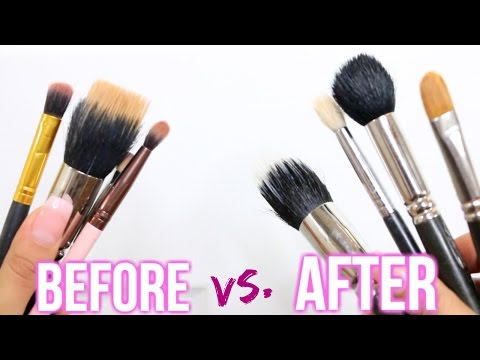 Best Way to Deep Clean Makeup Brushes | Cheap & Easy!