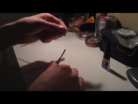 How to make spinning blowgun darts