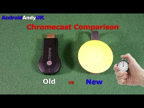 Chromecast: Old vs New (2015)