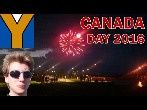 Yak City's Canada Day 2016 Vlog - Trochu + Chestermere, Alberta | Fireworks