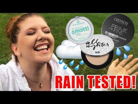 Waterproof Powders Review | RAIN TESTED!