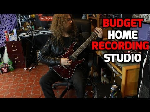 How to Build a Home Recording Studio on a Budget