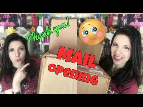 SUBSCRIBER MAIL OPENING - Beauty and the Beast and Barbie goodies!!!