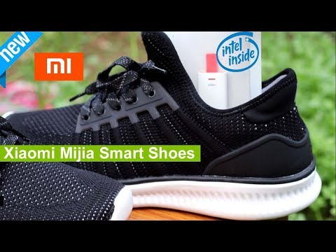 Xiaomi Mijia Smart Shoes ! Unboxing & Review - Track : Steps , Calories ,Speed & GPS  Map location