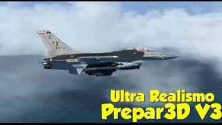 Prepar3d] MILVIZ F-4J Phantom Airshow Film | The Triumph of