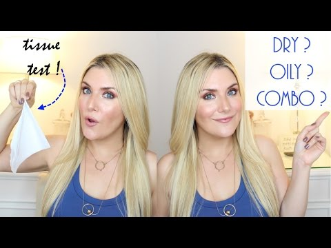 HOW TO DETERMINE YOUR SKIN TYPE | MAKEUP FOR BEGINNERS