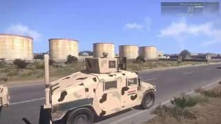 #x202b;ارما 3 |  معركة تحرير الموصل  حرب العراق ضد  داعش Arma 3#x202c;lrm;