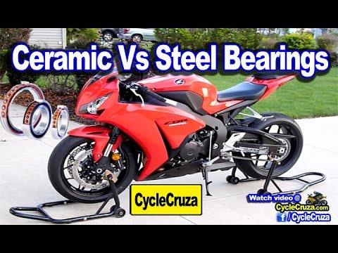 Ceramic Bearings Make Motorcycle Faster? Steel vs Ceramic Bearings | MotoVlog