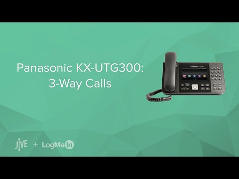 Panasonic KX-UTG300: 3-Way Calls