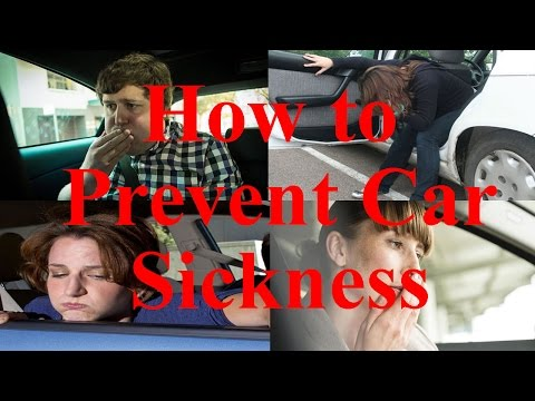How to Prevent Car Sickness - 22 Tips to Stop Getting Carsick